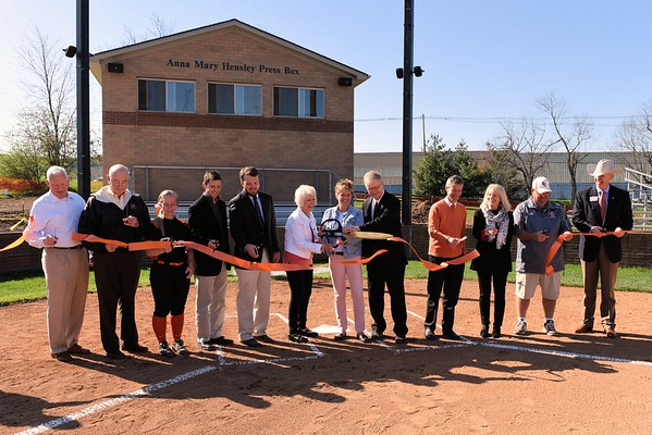Hensley Press Box Dedication 4-11-15