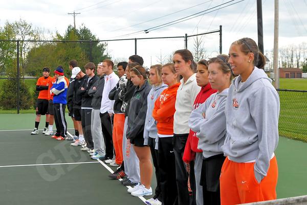 Tennis vs Cumberlands 4-11-12